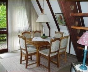 Das Esszimmer im Ferienhaus